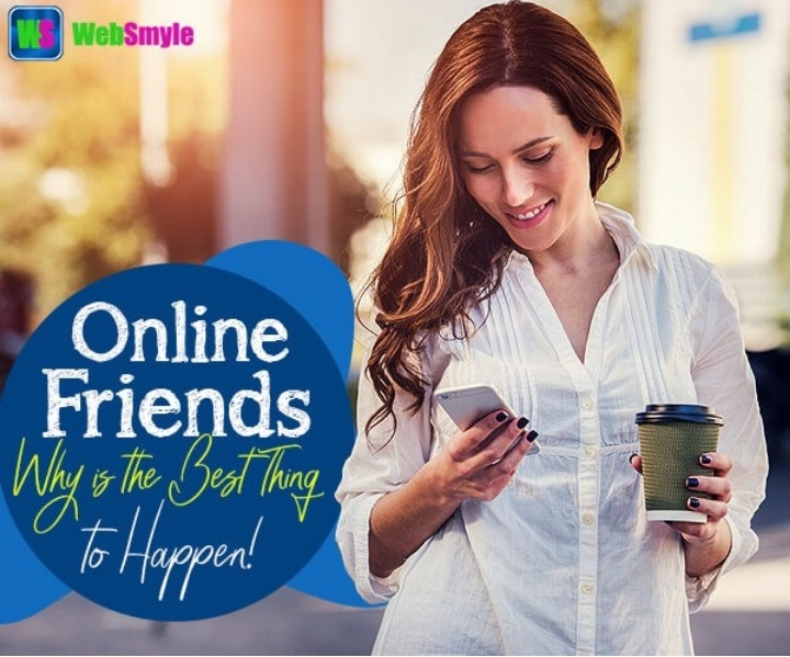 Top five reasons why having online friends is the best thing
