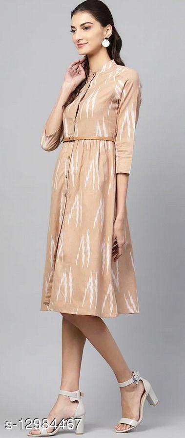 Trendy beautiful cotton dress for women