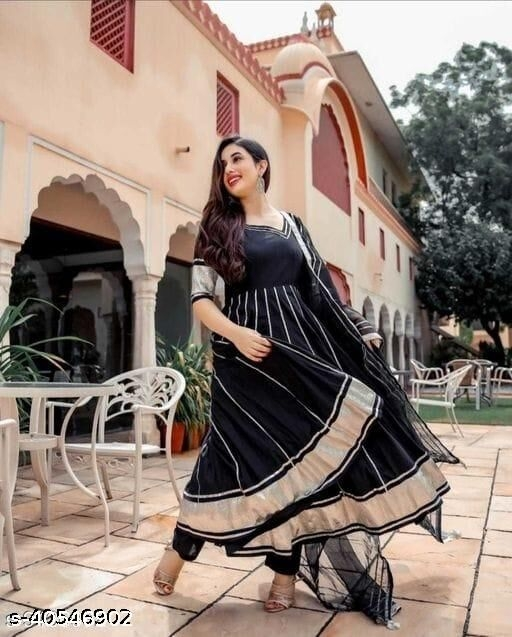 Latest & Fashionable Embroidery Plain Fancy Kurta with Dupatta and Pant Dupatta set