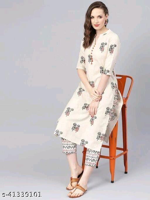 Trendy Voguish Women Kurta Sets